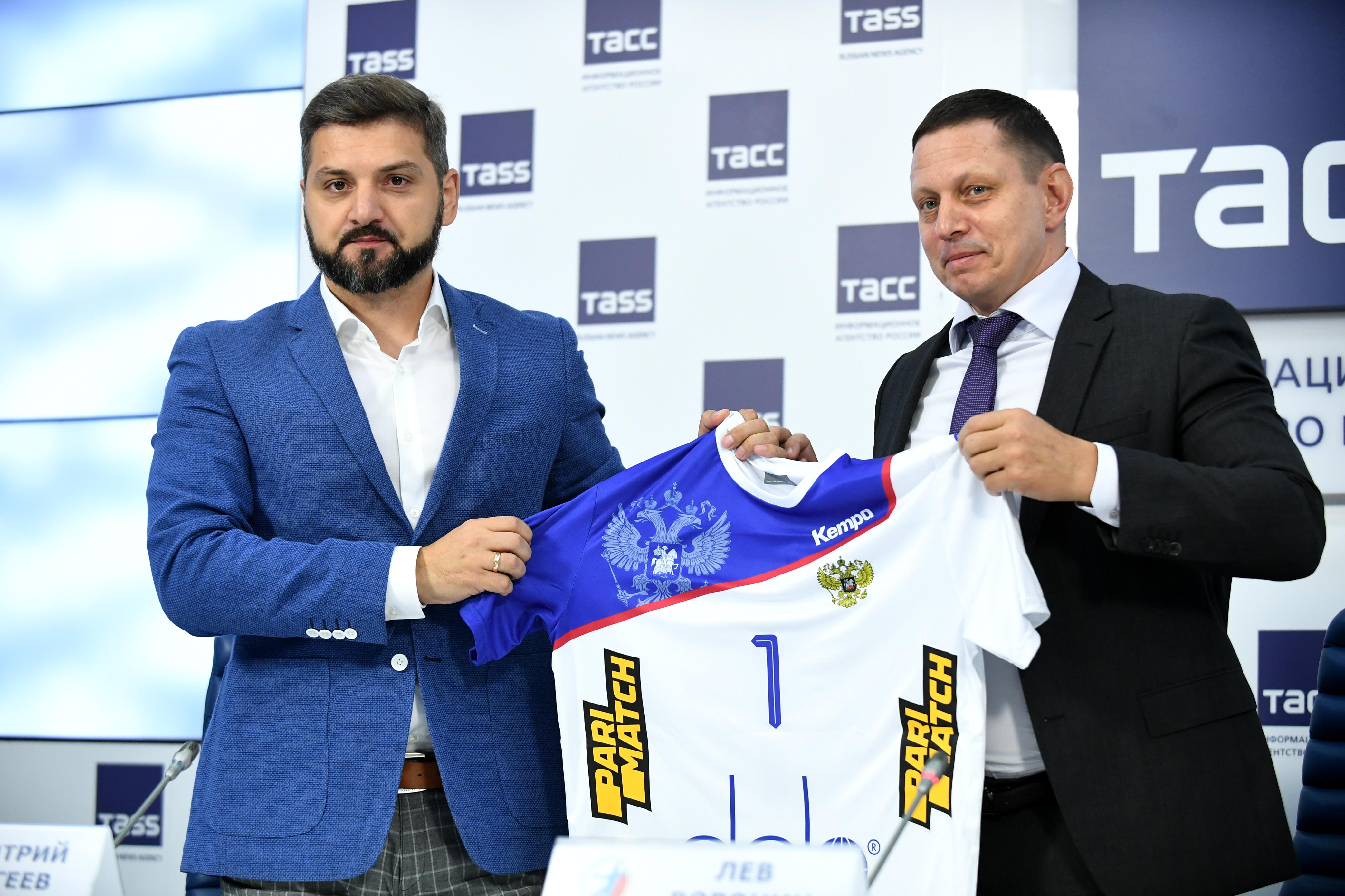 Париматч стал титульным партнером Федерации гандбола России